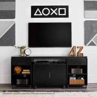 Pottery Barn Teen Gaming Media Console inspired by PlayStation