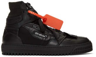 Off-White Black 3.0 Off-Court Sneakers