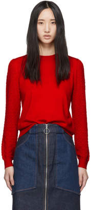 A.P.C. Red Natacha Sweater