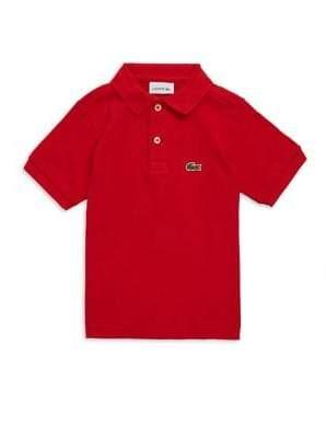 Lacoste Toddler's, Little Boy's & Boy's Short-Sleeve Polo
