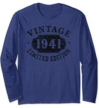78th B-day Birthday Gift 78 Years Old 1941 Limited Shirt