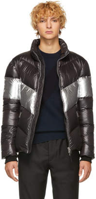 Mackage Black and Silver Down Lustrous Greg Jacket