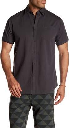 Micros Woven Button Down Shirt