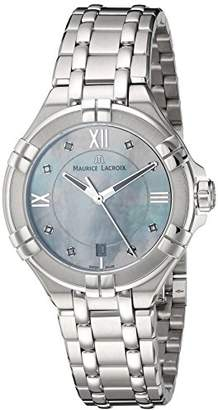 Maurice Lacroix Women's Aikon Quartz Watch with Stainless-Steel Strap