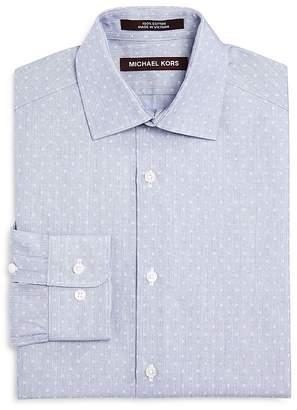 Michael Kors Boys' Neat Pattern Dress Shirt - Big Kid