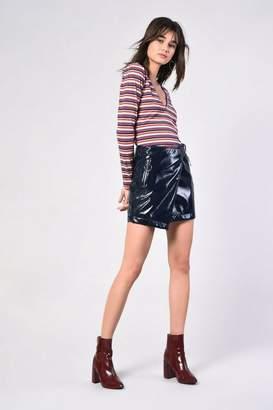 Glamorous **Wrap PU Skirt