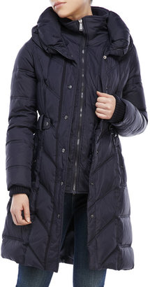dkny Pillow Collar Down Puffer Coat $240 thestylecure.com