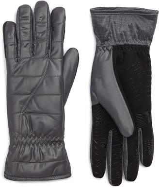 URBAN RESEARCH Quilted Touchscreen Compatible Gloves