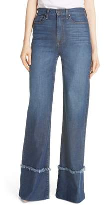 Alice + Olivia Gorgeous Flare Leg Jeans