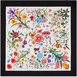 Flora silk printed foulard $485 thestylecure.com