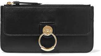 Chloé Tess Leather Wallet - Black