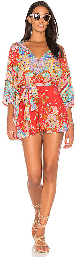 Spell & The Gypsy Collective Lotus Kimono Romper