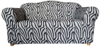 Sure Fit Statement Prints Zebra 2 Seater Sofa Cover
