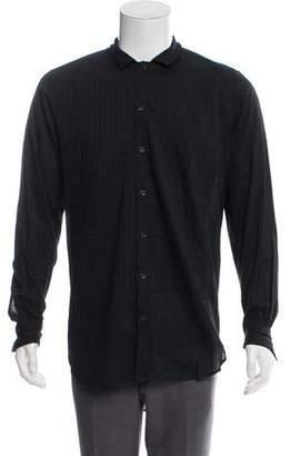 Dries Van Noten Pleated Dress Shirt