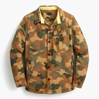 J.Crew Barbour® camo shirt jacket