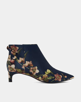 f7b9b018bea5 at Ted Baker · Ted Baker AMAEDIP Printed kitten heel ankle boots