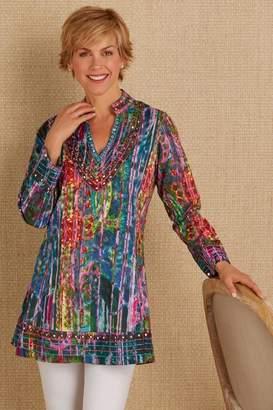 Soft Surroundings Mosaic Tunic