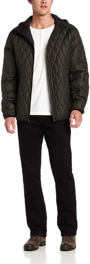 Victorinox Men's Davos Quilted Hooded Jacket