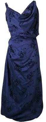 Vivienne Westwood asymmetric empire line dress
