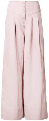 Ulla Johnson high waist wide leg trousers