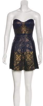 Tibi Brocade Mini Dress w/ Tags