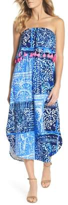 Lilly Pulitzer R) Meridian Strapless Midi Dress