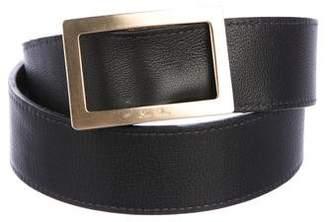 Loro Piana Reversible Leather Belt