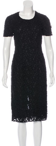 Burberry Burberry Floral Lace Dress