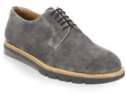Saks Fifth Avenue COLLECTION BY MAGNANNI Creeper Suede Lace-Up Derbys