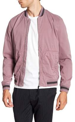 Ted Baker Robot Laundered Bomber Jacket