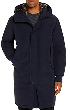 Faux Fur-Trimmed Down Parka