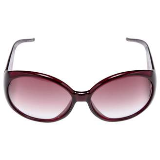 Just Cavalli Red Plastic Sunglasses