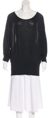 Chanel Cashmere Three-Quarter Sleeve Top