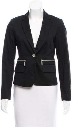 MICHAEL Michael Kors Notch-Lapel Long Sleeve Blazer