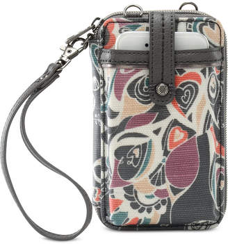 Sakroots Smartphone Wristlet Crossbody Wallet