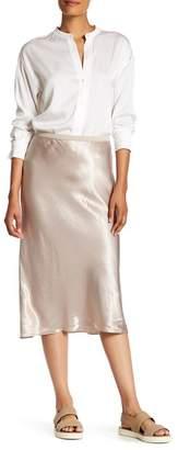 VINCE. Elastic Slip Skirt $255 thestylecure.com