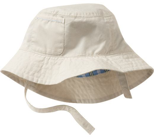 Patch pocket bucket hat