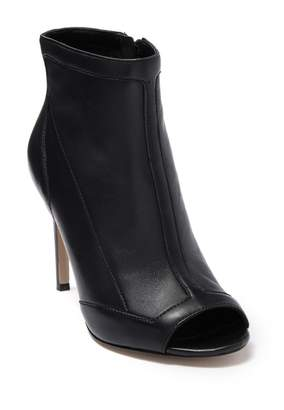 Charles David Courter Leather Open Toe Boot