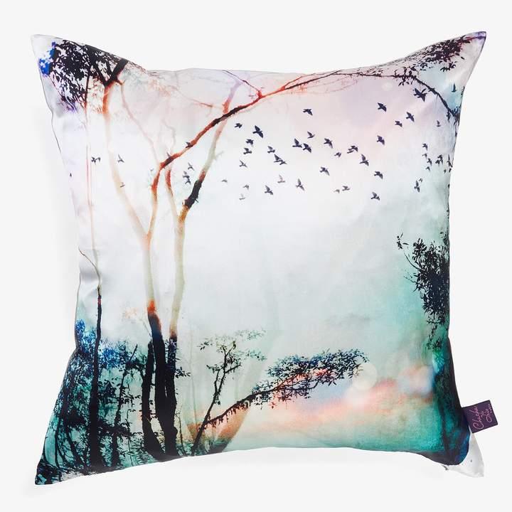 Fleurs Enchantees Fleurs Enchantées Vision Silk Pillow Multi