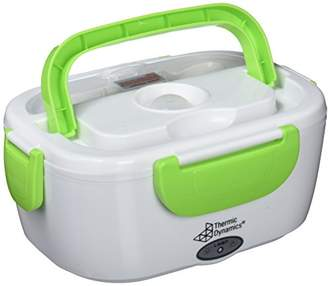 Camilla And Marc Thermic Dynamics Lunchbox Electric Car Pitcher, White/Green, 23 x 10.5 cm x 16.5 cm