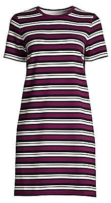 MICHAEL Michael Kors Women's Striped Short-Sleeve T-Shirt Dress