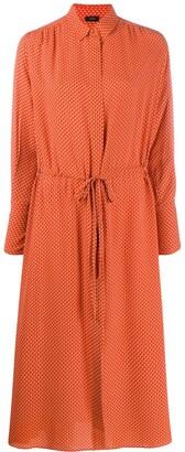 Joseph midi shirt dress