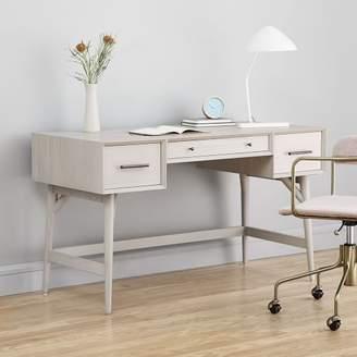 west elm Mid-Century Desk - Pebble