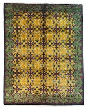 Suzani Area Rug, 10'4 x 8'2