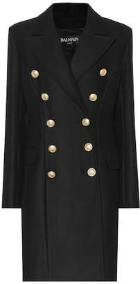 Balmain Wool and cashmere coat