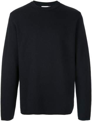 Sunspel crew neck knit top