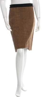 Hussein Chalayan Woven Knee-Length Skirt