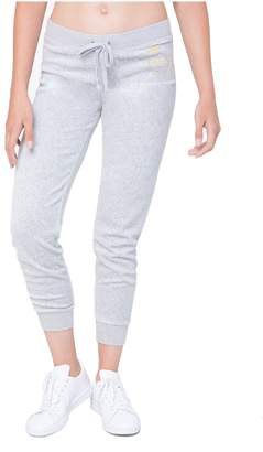 Juicy Couture Crown Luxe Crest Velour Zuma Pant