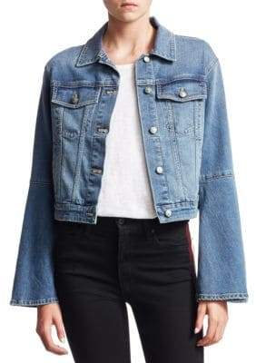 Joe's Jeans Jaclyn Bell Sleeve Denim Jacket