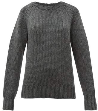 A.P.C. X Suzanne Koller Ethan Oversized Wool Sweater - Womens - Grey
